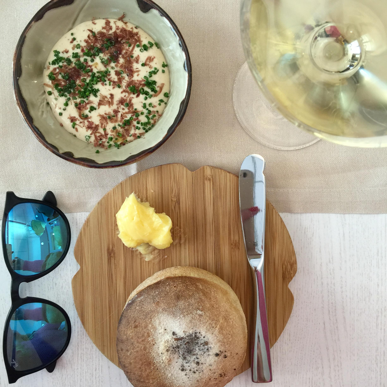 Exploring Helsinki Olo Cauliflower Soup with Reindeer