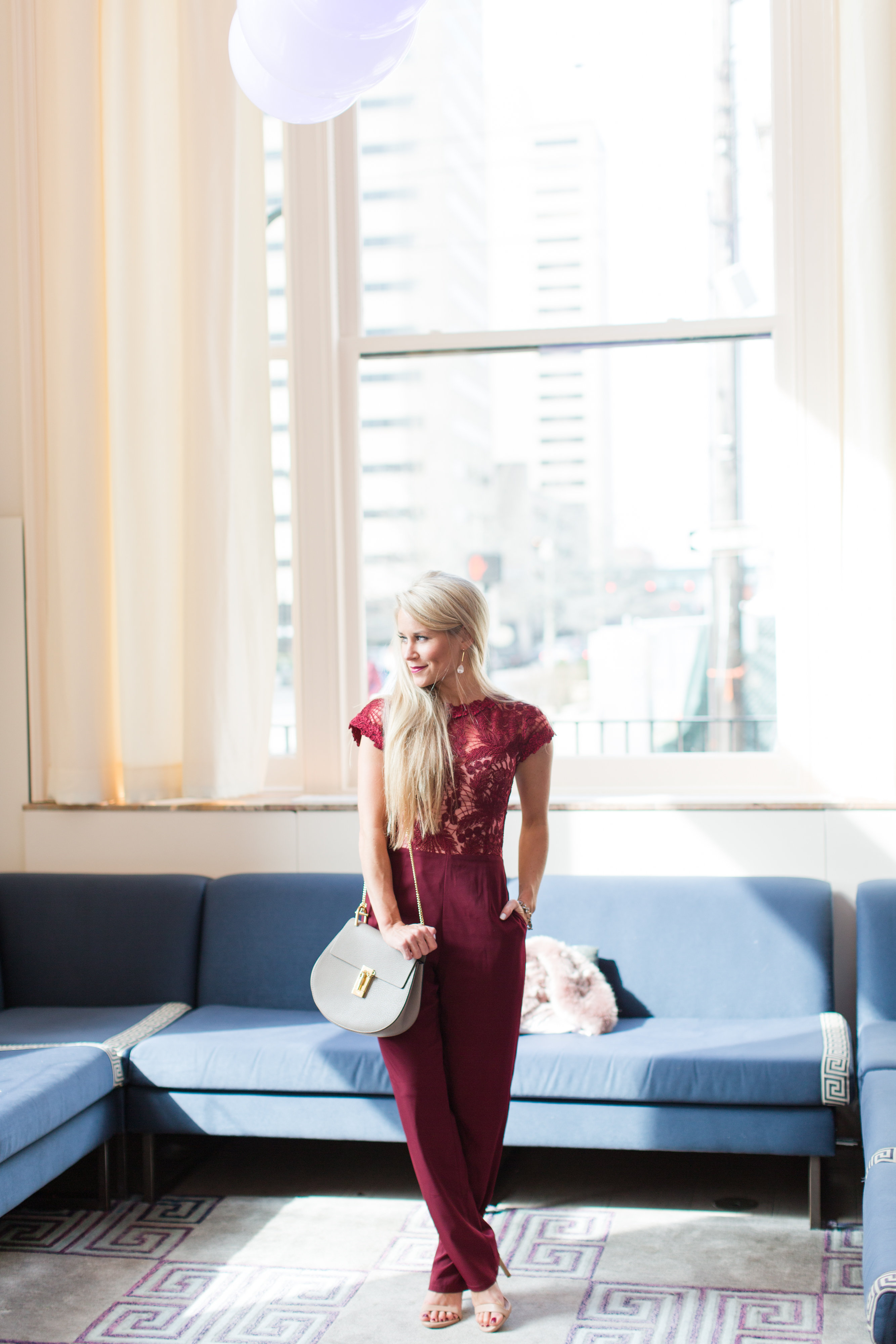 Cranberry Lace Jumpsuit Welcome To Olivia Rink