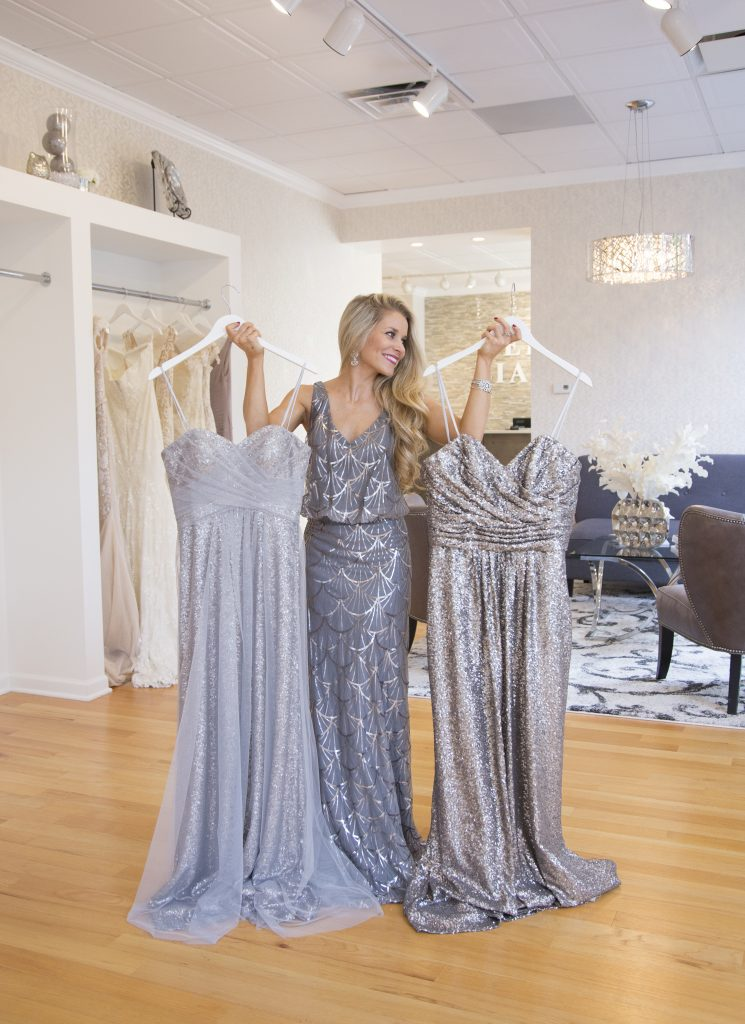 dca40c99 There are so many factors that go into selecting the right dresses to  outfit your party in: comfort, price, time of year, style of your gown,  body type, ...