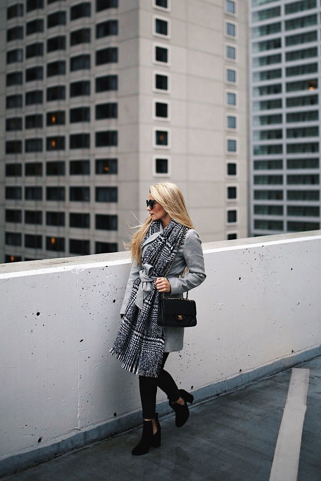 The Trench Coat You Need This Winter Welcome To Olivia Rink Naomi Express Petite In Grey Wearing Xxs Also Comes Black 30 Right Now Textured Blanket Scarf Steve Madden Suede Booties