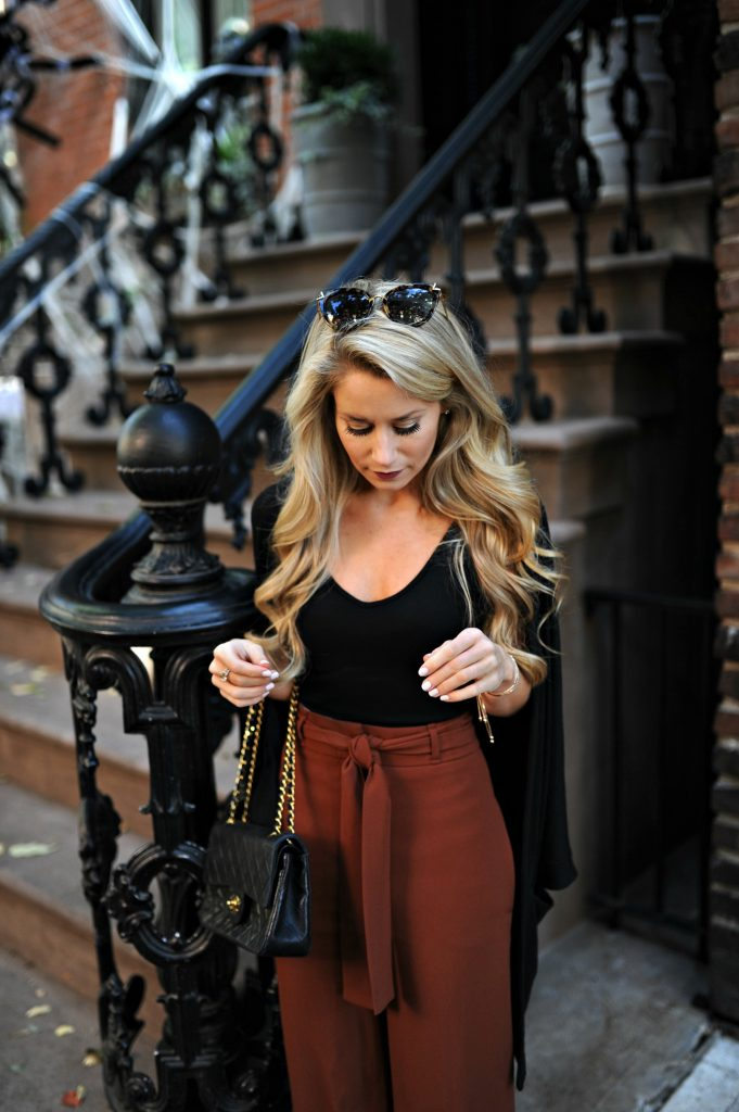 Black Cardigan for Fall