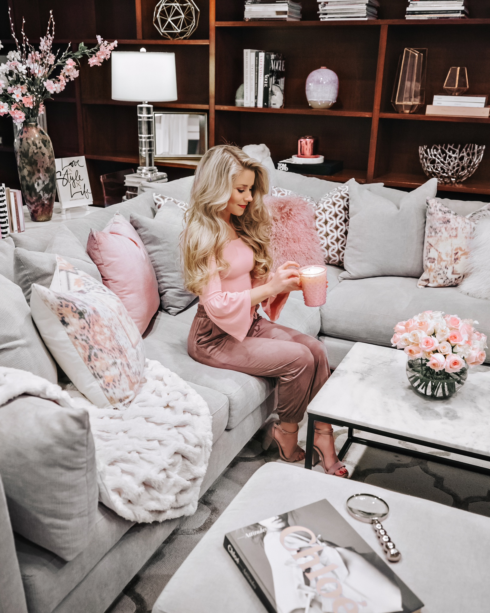 7 Feminine Decorating Ideas For Spring Welcome To Olivia Rink