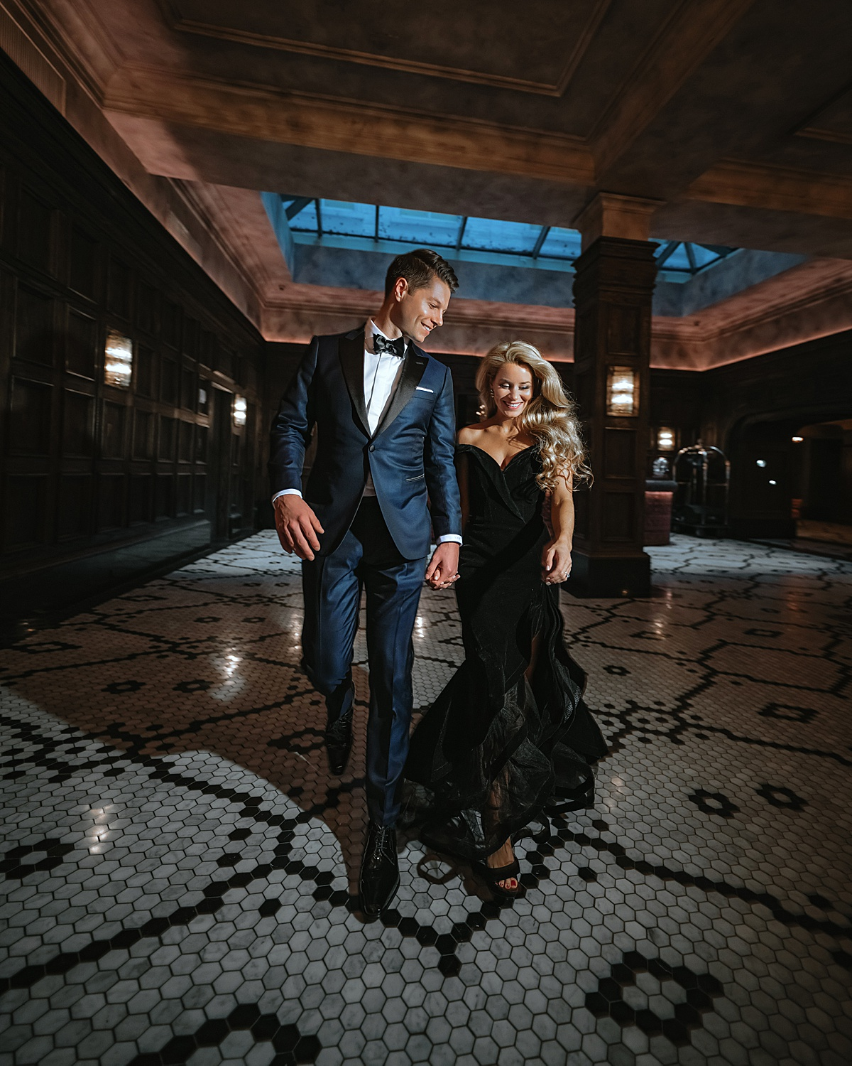 engagement pictures, engagement shoot, engaged 2020, engagement photos, olivia rink engagement, olivia rink engagement pictures, engagement outfit ideas, the beekman hotel, mac duggal, balani tux