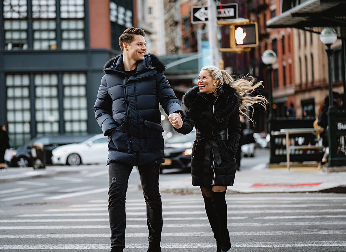 rudsak, olivia rink, olivia rink husband, olivia rink engagement photos, engagement photos, engagement pictures, what to wear for engagement photos, 2020 weddings, 2020 married, new york photoshoot, new york couple, couple photoshoot,