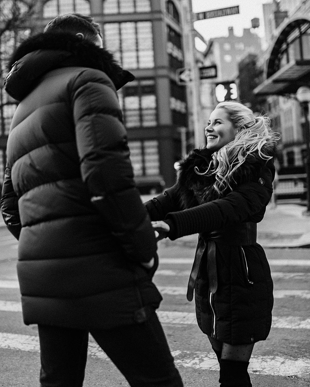 rudsak, olivia rink, olivia rink husband, olivia rink engagement photos, engagement photos, engagement pictures, what to wear for engagement photos, 2020 weddings, 2020 married, new york photoshoot, new york couple, couple photoshoot,