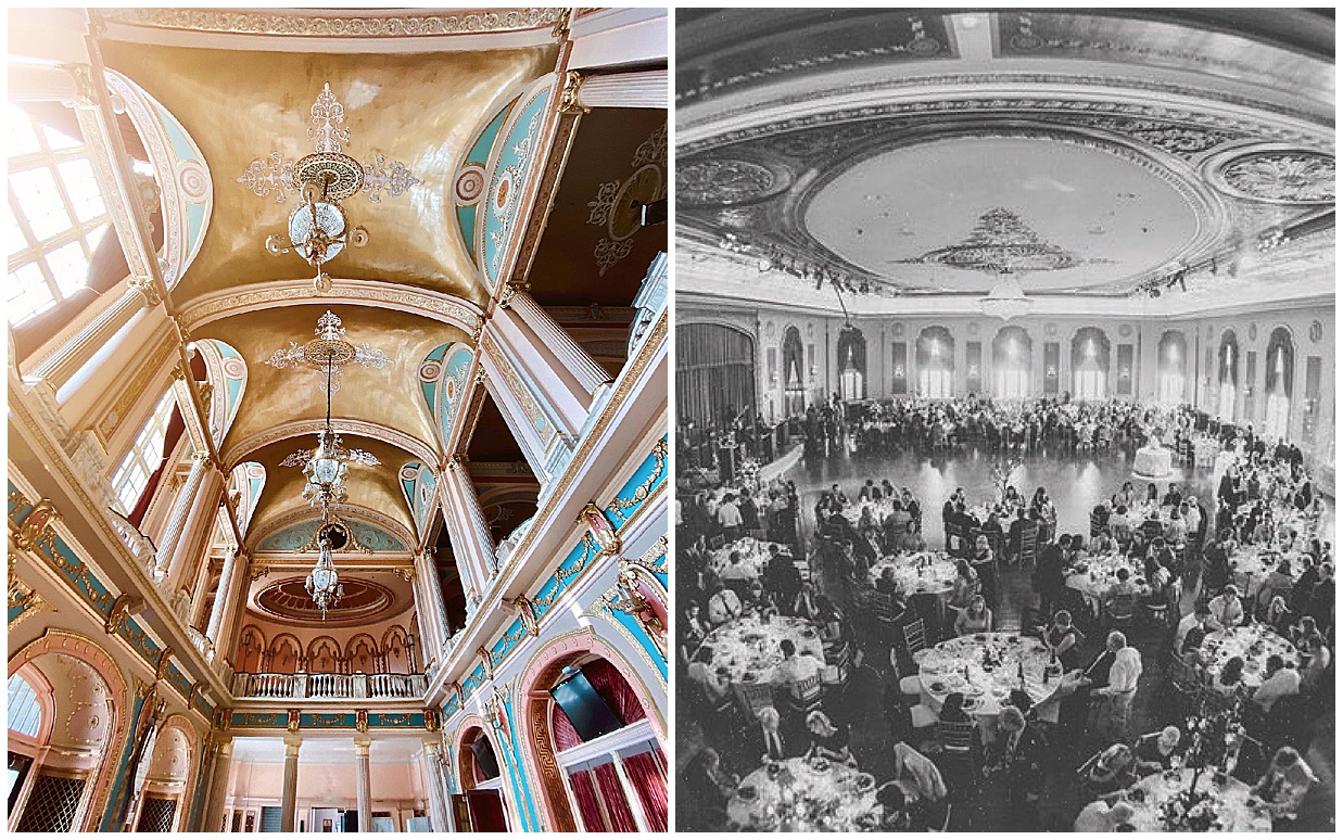 palais royale, palais royale south bend, indiana wedding, midwest wedding, olivia rink wedding, ballroom wedding, regal wedding, classic wedding, historic ballroom wedding, olivia rink big city bride