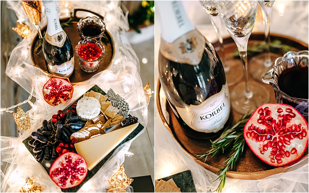 midwest blogger, indiana blogger, korbel brut, korbel champagne, korbel cocktail, korbel 2020, 2020 holiday cocktail, 2020 festive cocktail, holiday cocktail recipe, champagne cocktail recipe, champagne cocktail, blogger cocktail recipe, olivia rink grandma, olivia rink family, olivia rink holiday, adrianna papell, adrianna papel holiday dress, adrianna papel bridesmaid dress