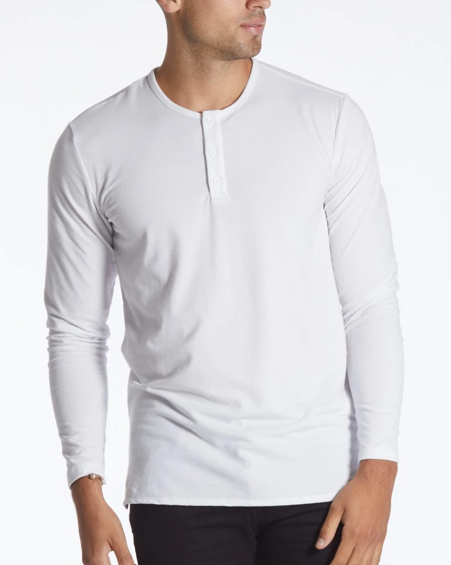 gift guide for him, christmas gifts for him, gifts for the man who has everything, gifts for men, gifts for dad, gifts for husband, gift guide for husband, olivia rink husband, olivia rink fiance, gifts for boyfriend, 2020 boyfriend christmas gifts, olivia rink conner, cuts shirts, best shirts for men