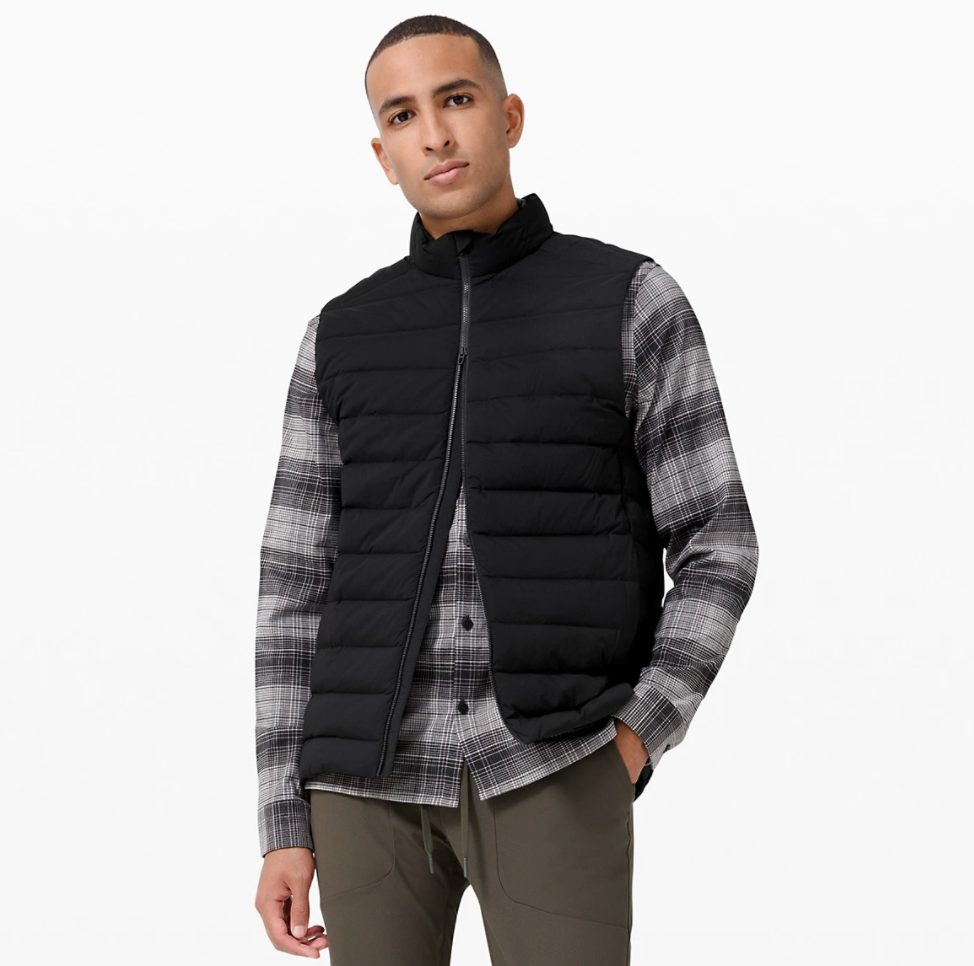 gift guide for him, christmas gifts for him, gifts for the man who has everything, gifts for men, gifts for dad, gifts for husband, gift guide for husband, olivia rink husband, olivia rink fiance, gifts for boyfriend, 2020 boyfriend christmas gifts, olivia rink conner, lululemon men's vest