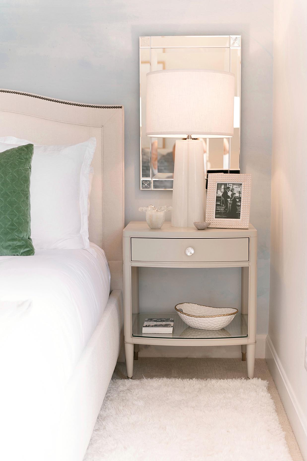 master bedroom, feminine master bedroom, glam bedroom, glamorous bedroom, childhood bedroom transformation, olivia rink design, olivia rink decor, olivia rink childhood bedroom, kathy kuo home, bedroom design, feminine bedroom design, glam bedroom